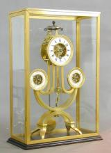 Pendule - skeletklok, Joannes Michael Geraets (1791-1859), ca. 1820 (collectie Het Stadsmus Hasselt, inv.nr. 2008.0054)