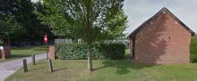 Kerkhof Stokrooie, Schabbestraat (uit: Google Maps, 06-2013)