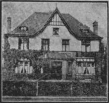 Villa La Clarté, Sint-Truidersteenweg 121 (uit: Het Belang van Limburg, 06-10-1951, p. 7)