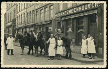 Slagerij Vanrusselt-Nouwen 1940-1945, afb. 1 (privécollectie familie Vanrusselt)