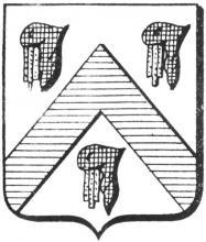 Familiewapen Speelmans (uit: Het Belang van Limburg, 24-04-1976, p. 35)