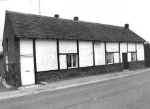 Hoevetje (tweegezinswoning), Steenberg 69-71 (uit: Inventaris van het cultuurbezit in België (1981), fig. 992 - Frieda Schlusmans, 04-1976 - Vlaamse Gemeenschap)