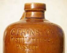 Stoop (detail) 'G. Fryns & Cie Distillateurs Hasselt