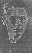 Portretfoto Lambert Swerts (1907-1980) (uit: Realistische Romantiek door Lambert Swerts, in Het Belang van Limburg, 25-12-1935, p. 8)