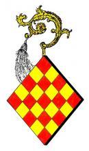 Wapen Margareta van Stein, abdis Herkenrode (1303-1333) (uit: Wapenboek (2004), p. 23)