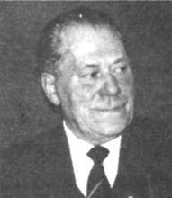Portretfoto Clement Vananderoye (1904-1985) (uit: overlijdensbericht)