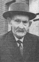 Portret Jefke Veekmans (uit: Ouderdomsdeken van Kuringen overleden / Jefke Veekmans vierde in april briljanten bruiloft (1967))