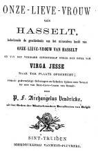 Onze-Lieve-Vrouw van Hasselt …, 1867, Archangelus Vendrickx (1818-1893)