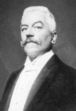 Portretfoto Florent Villers (1844-1911) (collectie Jenevermuseum Hasselt)