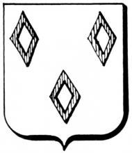 Familiewapen Wesius (uit: Het Belang van Limburg, 02-04-1977, p. 39)
