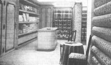 Het Huis Valkenborgh biedt zijn klanten reeds de kollektie van 1973 voor alle textiel, die het interieur van hun woning kan verfraaien. (uit: Huis A. Valkenborgh na brand opnieuw open te Hasselt (1972))