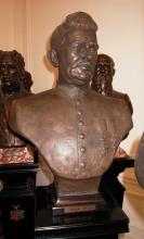 Buste burgemeester Jozef Bollen, brons, Gerard Moonen (collectie Het Stadsmus Hasselt)
