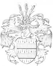 Familiewapen (de) Corswarem (uit: Limburgse families en hun wapen (1978), p. 31)