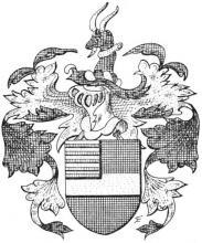 Familiewapen de Lamboy (uit: Het Belang van Limburg, 24-02-1973, p. 15)