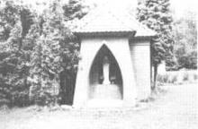 Kapel Onze-Lieve-Vrouw van Banneux, Borggravevijversstraat (uit: Waar men gaat langs Hasseltse wegen .... (1982), z.p., nr. 24)
