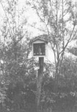 Kapel Onze-Lieve-Vrouw van Lourdes (uit: Waar men gaat langs Hasseltse wegen .... (1982), nr. 89)