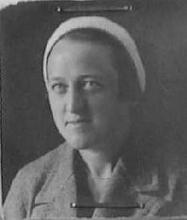 Portretfoto Lucille Dubois (1906-1985) (collectie Het Stadsmus Hasselt)