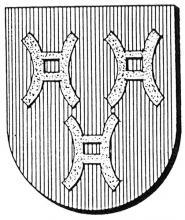 Familiewapen van Vlierden (uit: Oog in Oog (2003), p. 292)