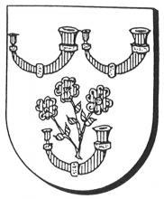 Familiewapen van der Heyden (uit: Oog in Oog (2003), p. 191)