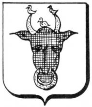 Familiewapen van Hengel (uit: Het Belang van Limburg, 02-04-1977, p. 39)