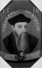 Portret prins-bisschop Cornelis van Bergen (1490?-1545/1560), olieverfportret (collectie Bisdom Luik)