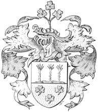 Familiewapen van der Ryst (uit: Limburgse families en hun wapen (1973), p. 116)