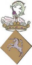 Heraldisch embleem Herkenrodeabdij